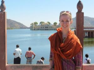 Allison M. Rich in India. (Photo: Allison M Rich)
