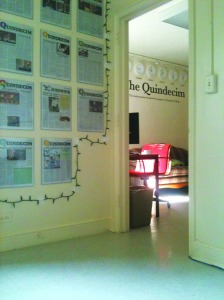 The Quindecim Office 2011. (Photo: Kaitlin Higgins)
