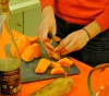 Kathryn Walker preparing her pumpkin Scones. (Photo: Kathryn Walker)