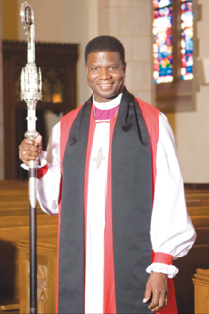 Right Reverend Sutton was one of the religious leaders at the event (Photo: Google Images)