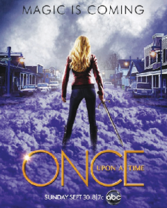Poster for season 3 of Once Upon a Time (Photo: Google images)