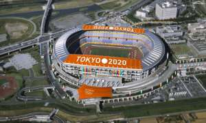 3-d computer generated proposal for Tokyo Olympic Stadium [Photo: Google Images]