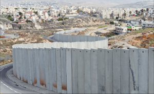 Wall separating Israel and Palestine. (Photo: Google Images)