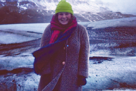 Ruby Tucker in the mountains of Iceland staying cool (Photo: Ruby Tucker)