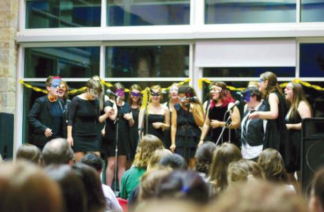 Reverend's Rebels at their spring 2013 concert (Photo: Courtesy of Zack Kohn)