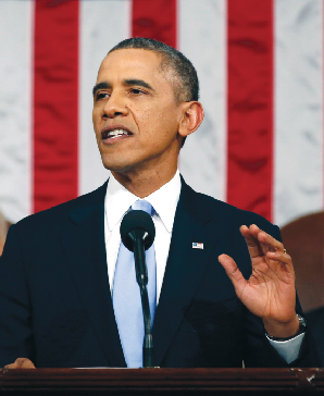 President Obama delivers his 2014 State of the Union address (Photo: Google Images)
