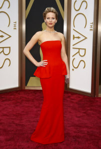 Jennifer Lawrence at the Oscars (Photo: Google Images)